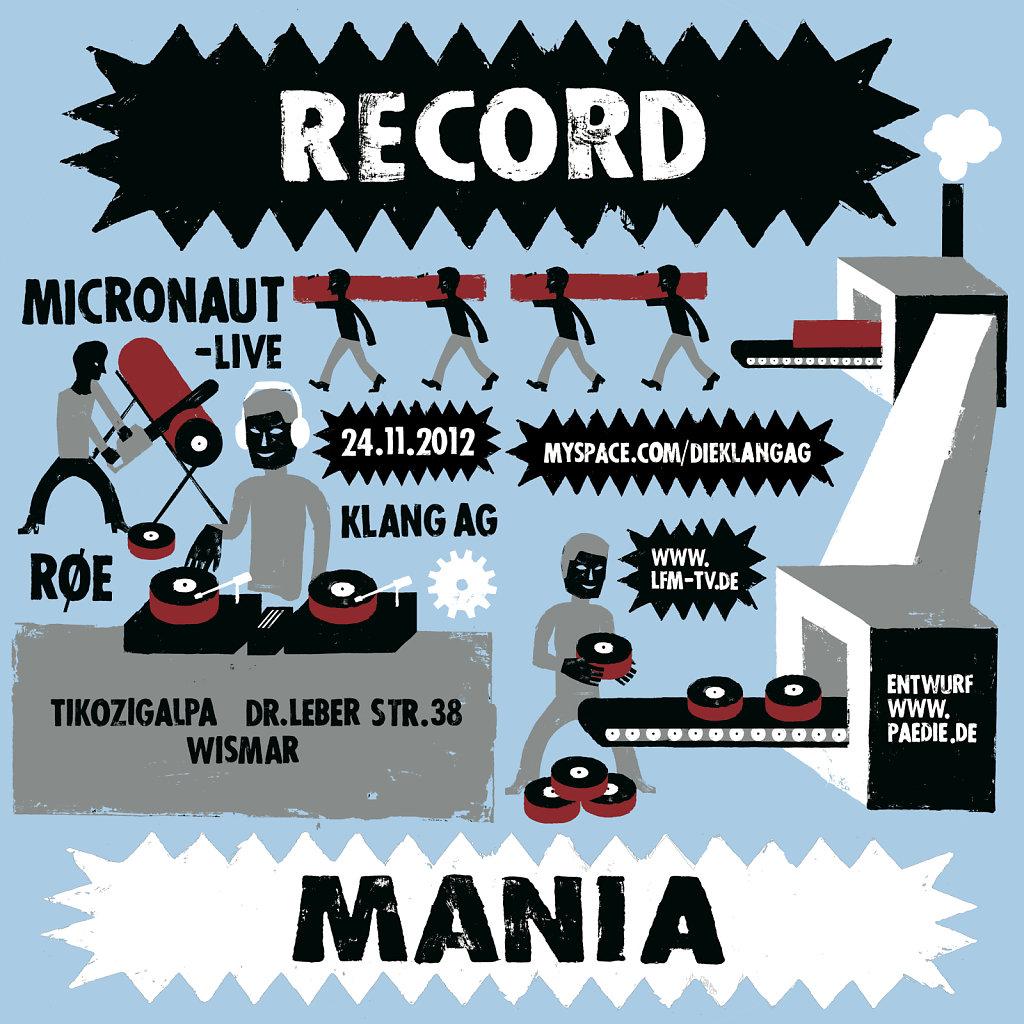 Record Mania 2012
