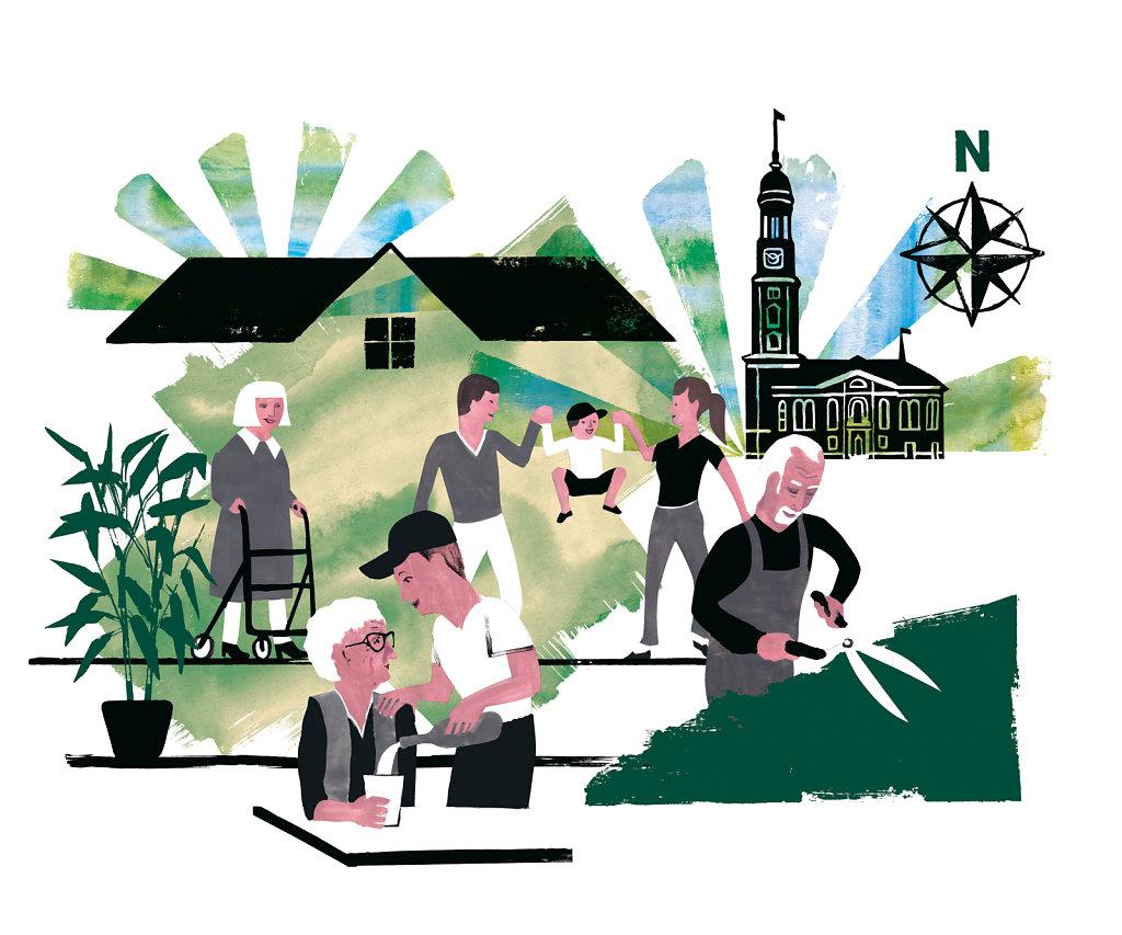 Leben und Wohnen im Alter Norden