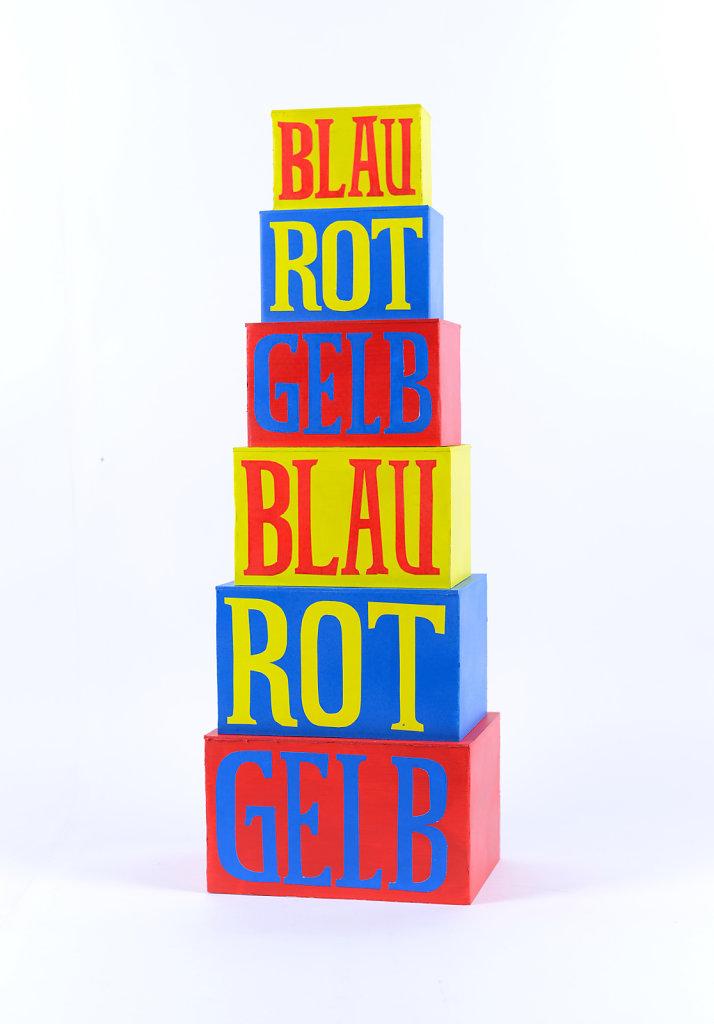 Blau, Rot, Gelb