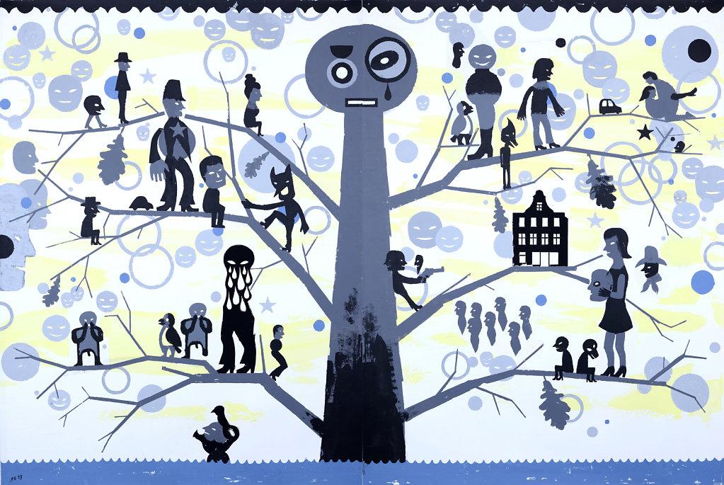 Pazifischer Baum