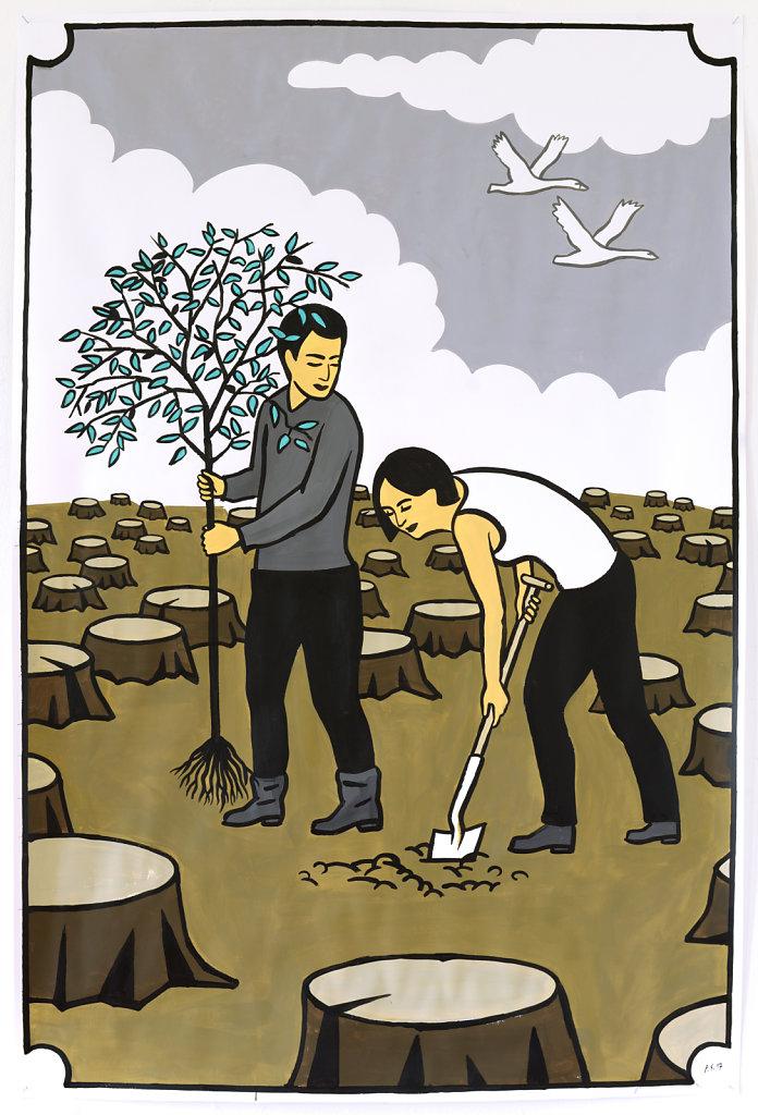 Pflanzung