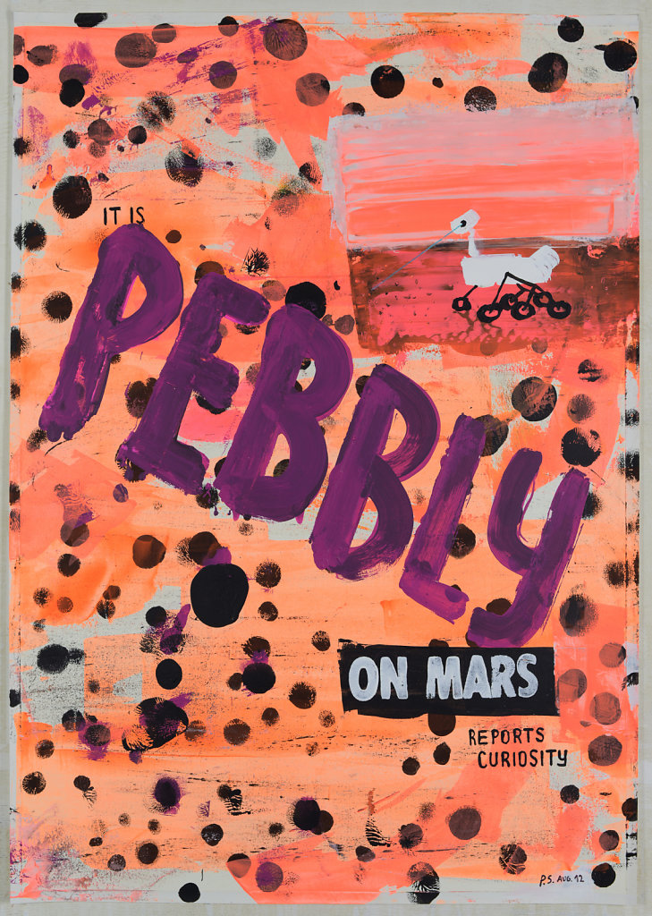 Pebbly on Mars